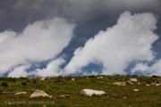 Clouds in the Dartmoor Landscape