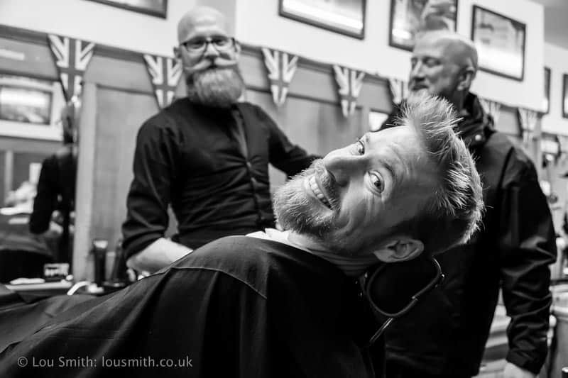 Barbers Shop - Candid Street Photography