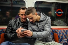 On the Tube - Candid Street Photography