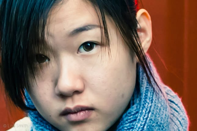 Street Portraiture in China Town