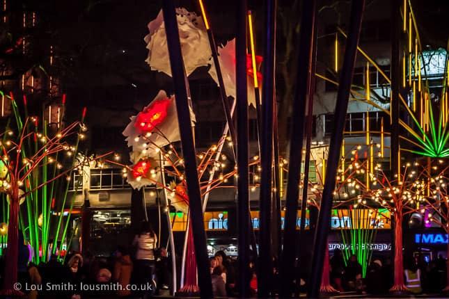 Lumiere London, Garden of Light