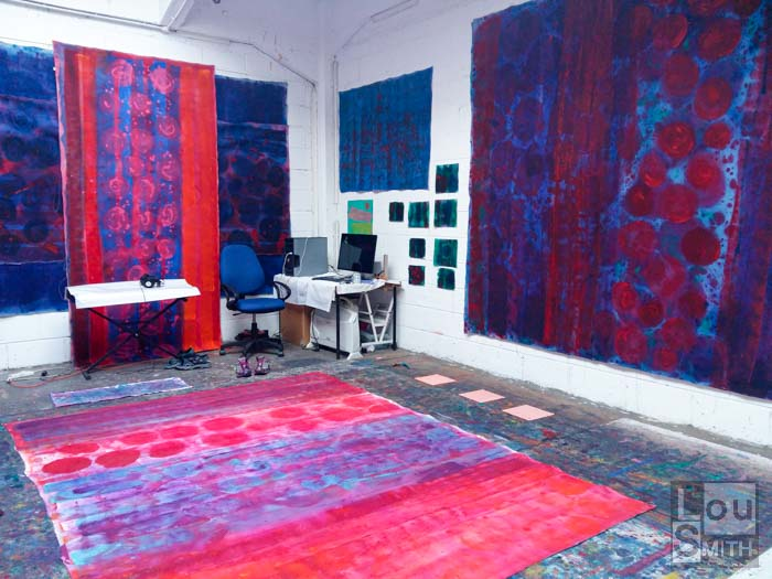 London Art Studio - Lou Smith Fine Art